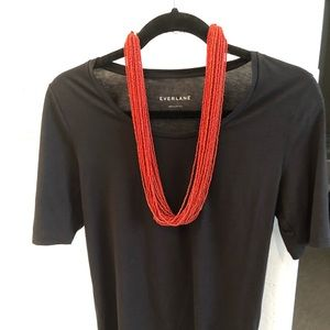 Jewelry - Native American Coral Beaded 20 strand Necklace